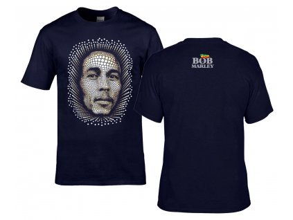 Bob Marley Náhled navy