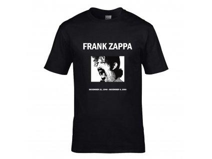 Frank Zappa Náhled black