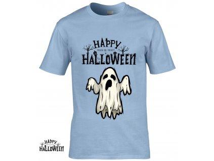 Happy Halloween Ghost Náhled blue R