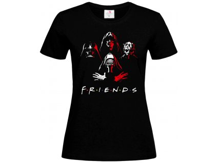 Friends Star Wars Náhled black