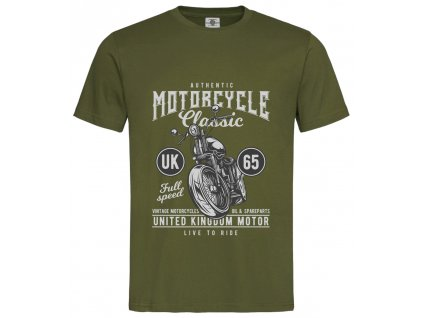 Authentic motorcycle Náhled navy