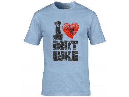 I dirt bike Náhled blue