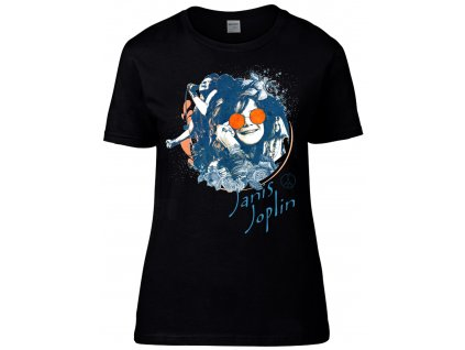 Janis Joplin Náhled black D