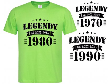 Legendy 1980 Náhled green h