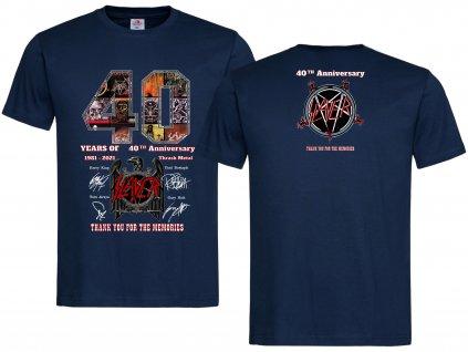 40th Anniversary Náhled navy