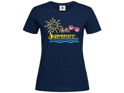 Hello summer Náhled navy