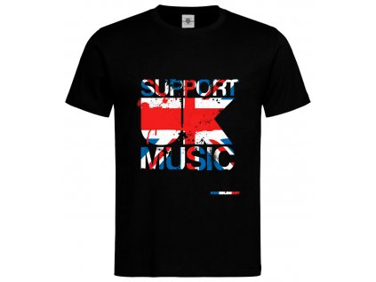 Support UK Music Náhled black
