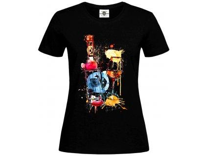 Tričko Abstract Wine