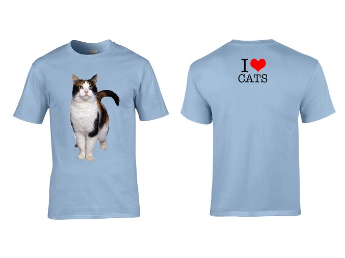 Tričko I Love Cats
