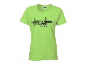 Děkuji Náhled green d
