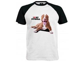 Tričko I Love My Pitbull