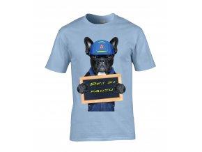 Tričko Bulldog v práci