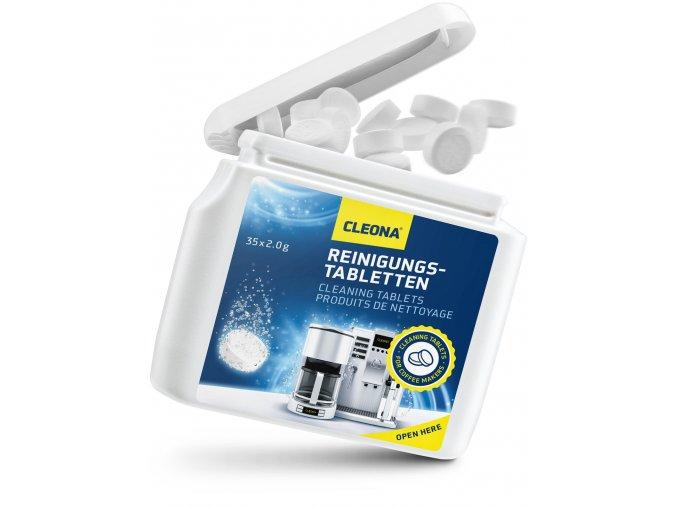 cistici tablety do kavovaru 35 Tablet 2g Jura Delonghi Bosch Siemens Seaco