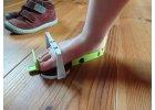 Ortopedické měřidlo nohou a obuvi pro děti Clevermess