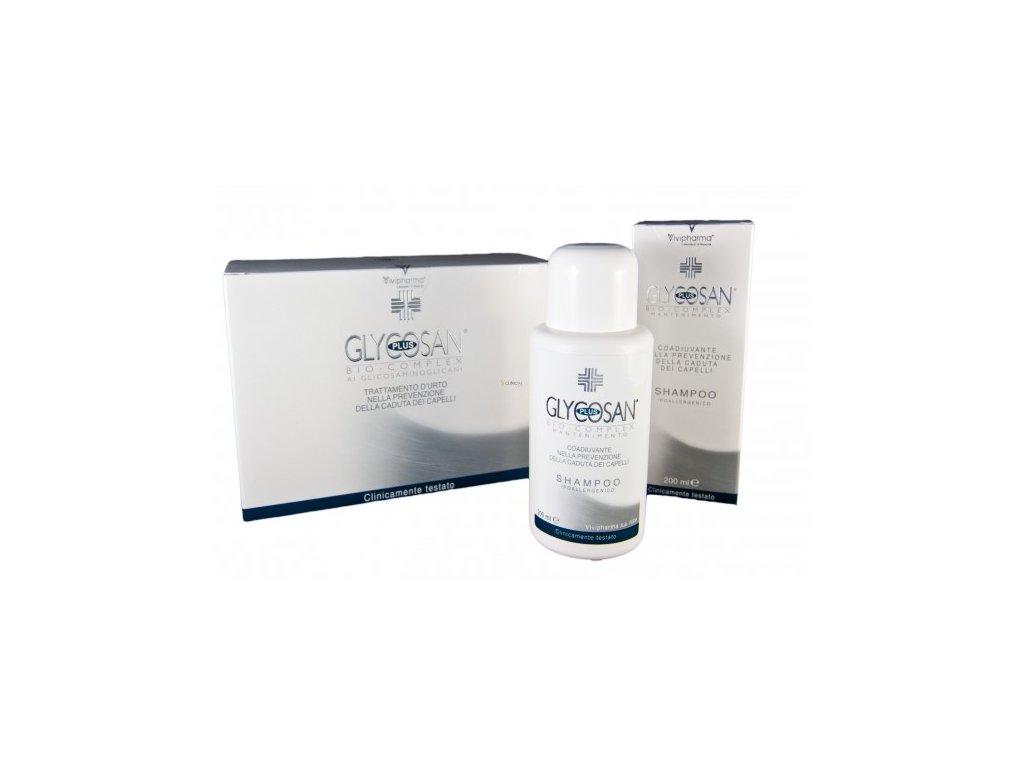 Glycosan Plus Anti-caduta set proti padání vlasů