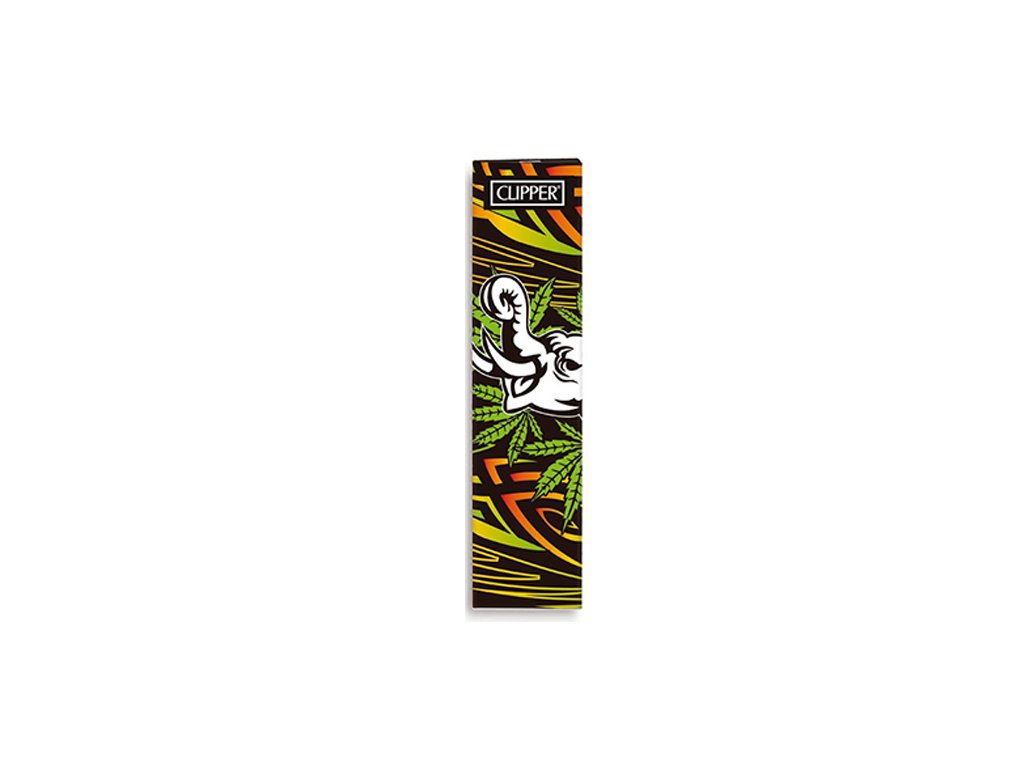 PAPIERIKY CLIPPER SIMPLE SET KING SIZE-WILD WEED 4 S FILTRAMI