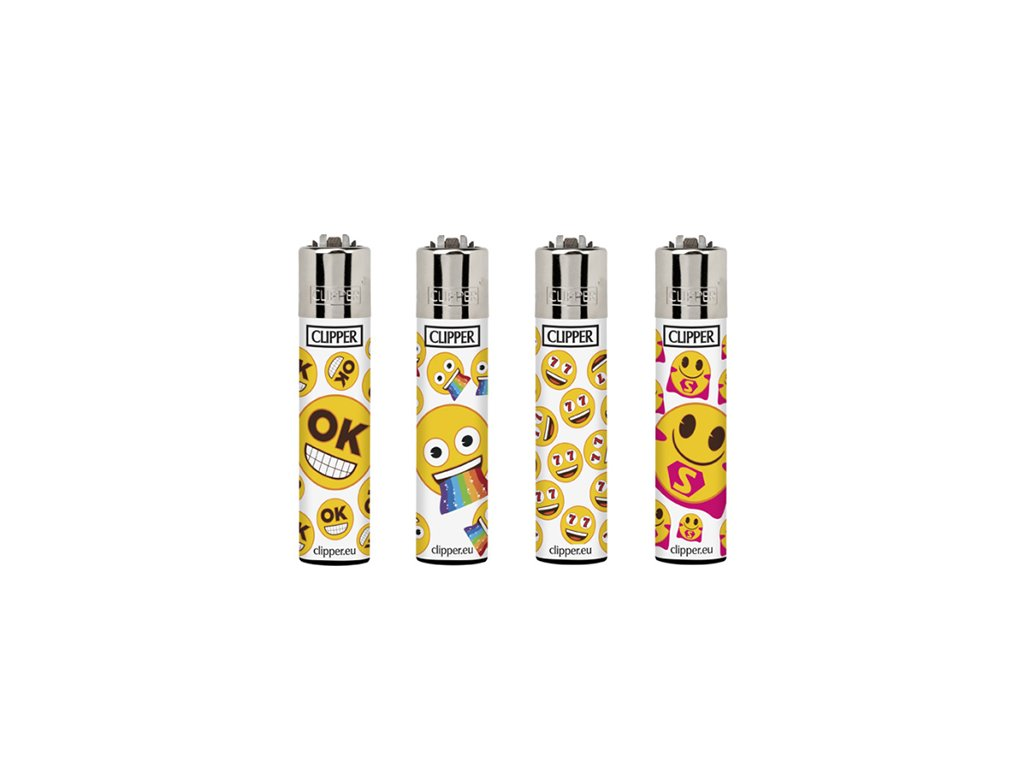 4ks CLIPPER® EMOJI MIX 3