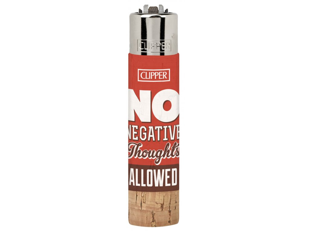 1ks CLIPPER® Pop Cover Positive Phrases 4 Cork