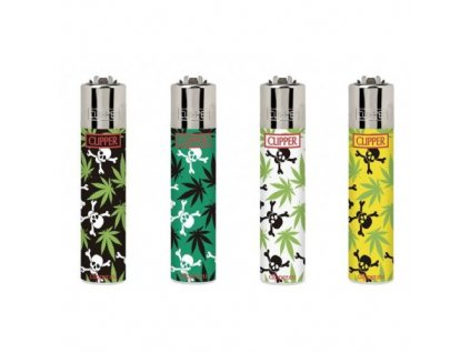 4ks CLIPPER® SKULLS AND LEAVES