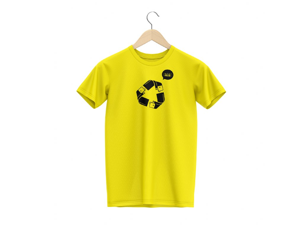 YELLOW REUSE T