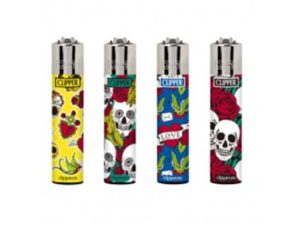2340 4ks clipper skulls tattoo 2