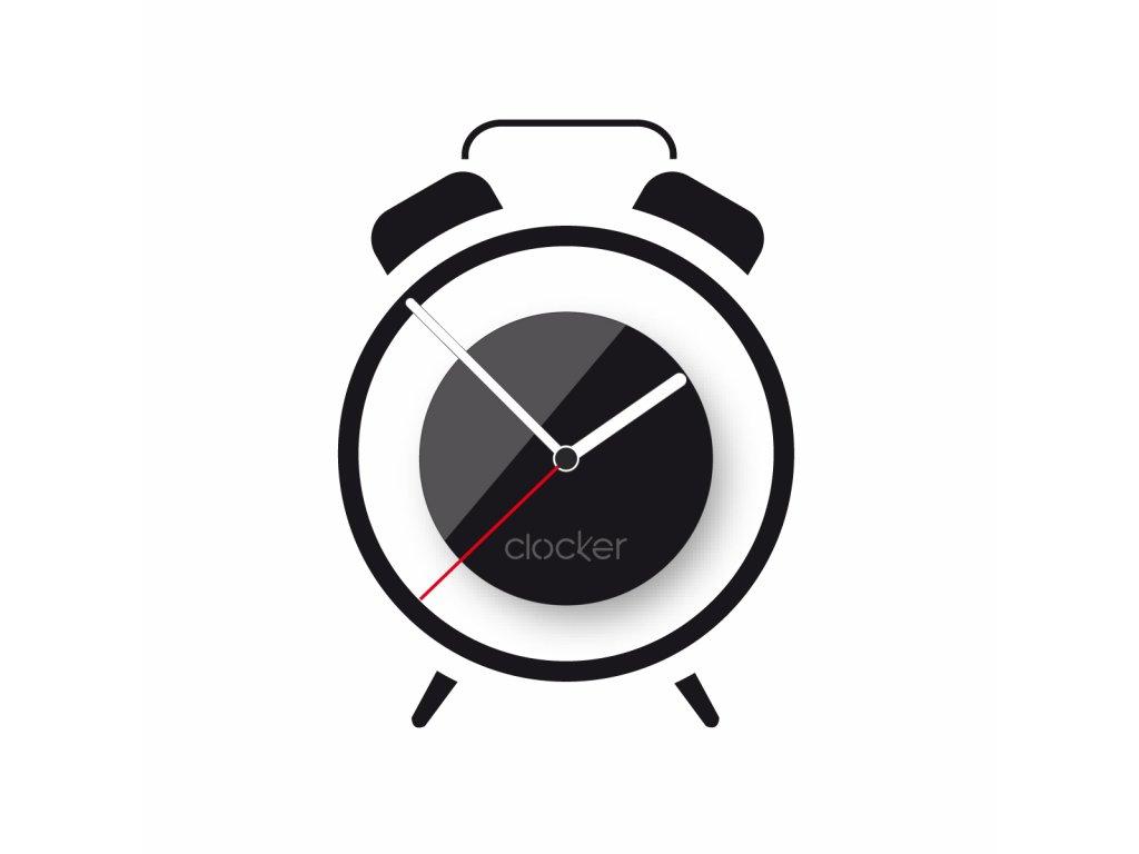 Nalepovací hodiny Alarm
