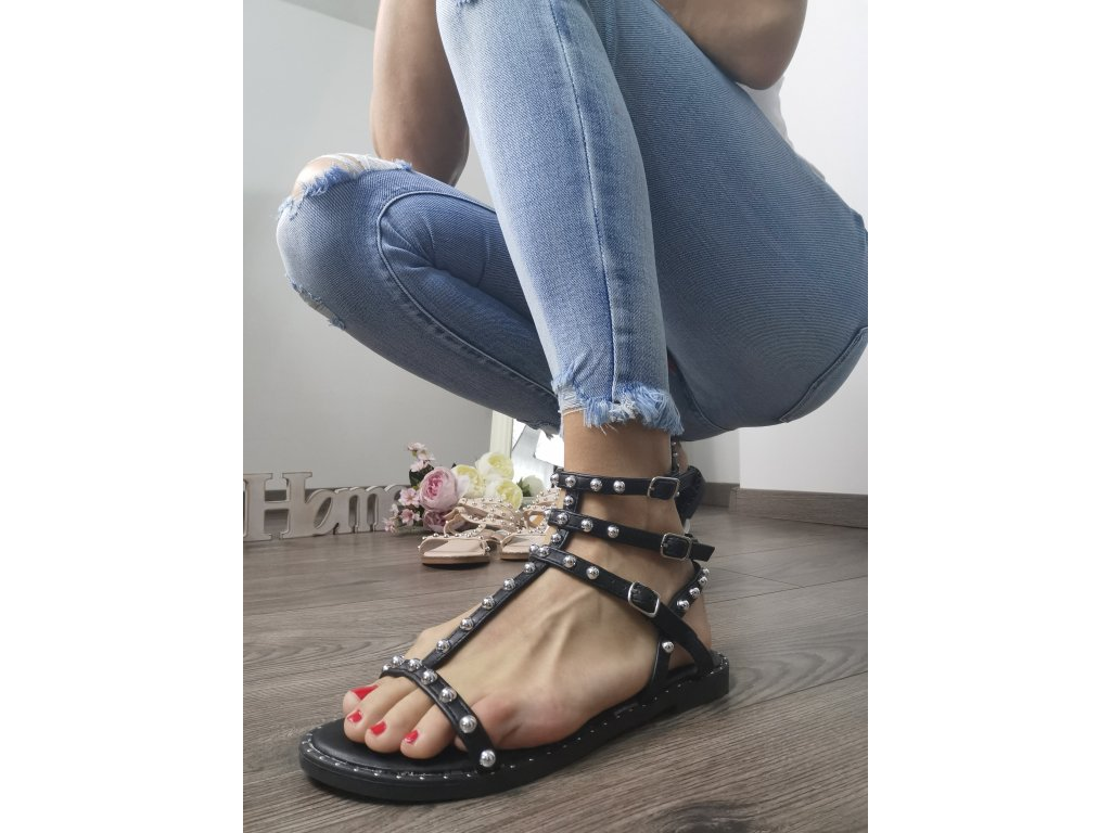 Dámske sandále  2011 black