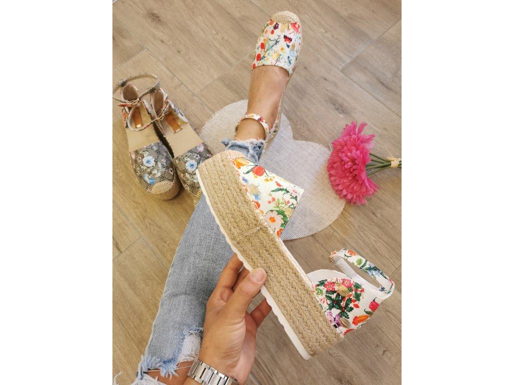 Dámske sandále JH150 white