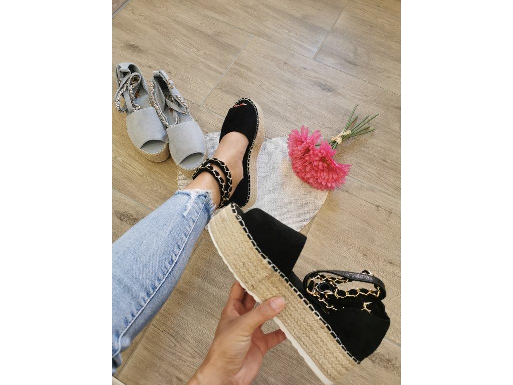 Dámske sandále  JH153 black