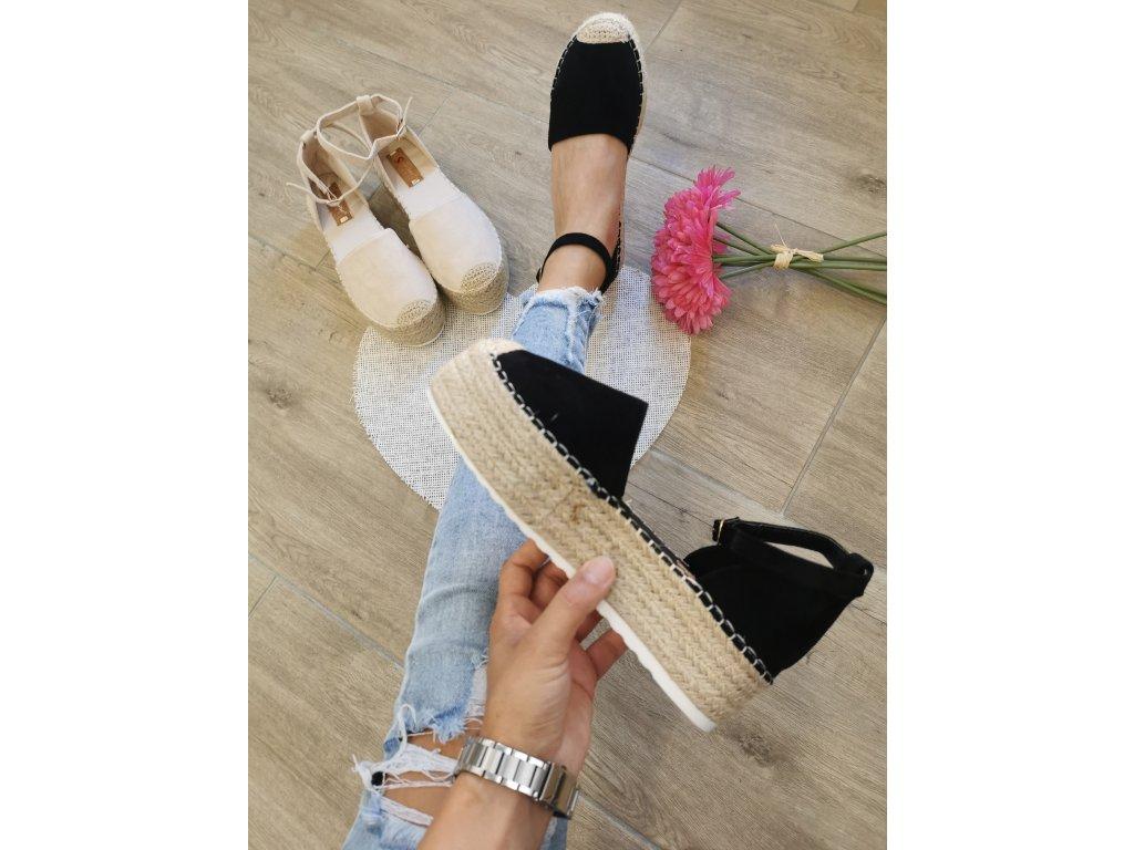 Dámske sandále JH150 black