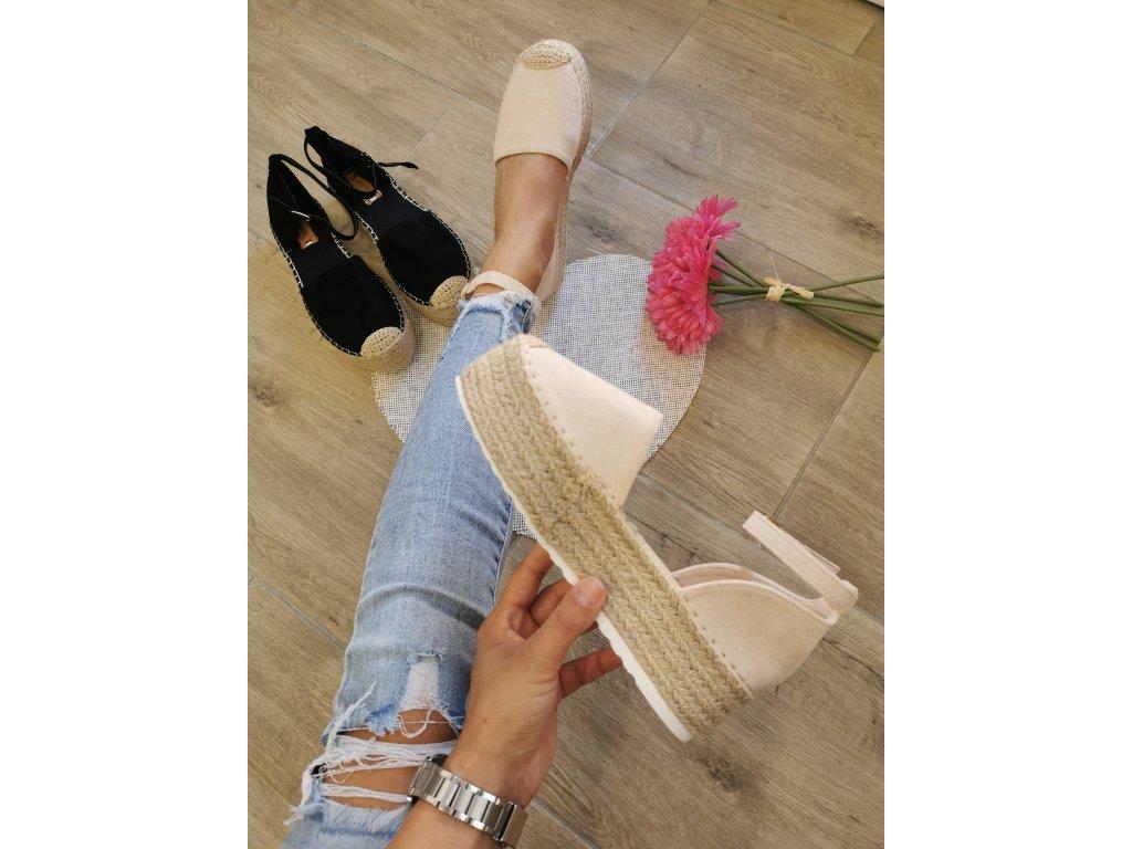 Dámske sandále  JH150 beige