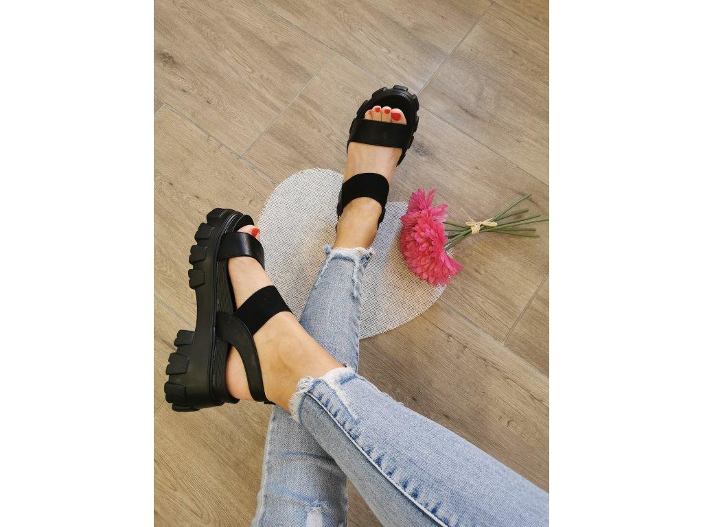 Dámske sandále NS192 black