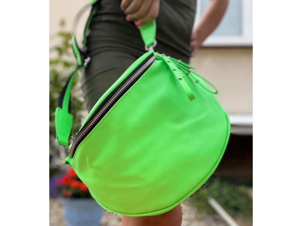 Crossbody 86081 green fluo