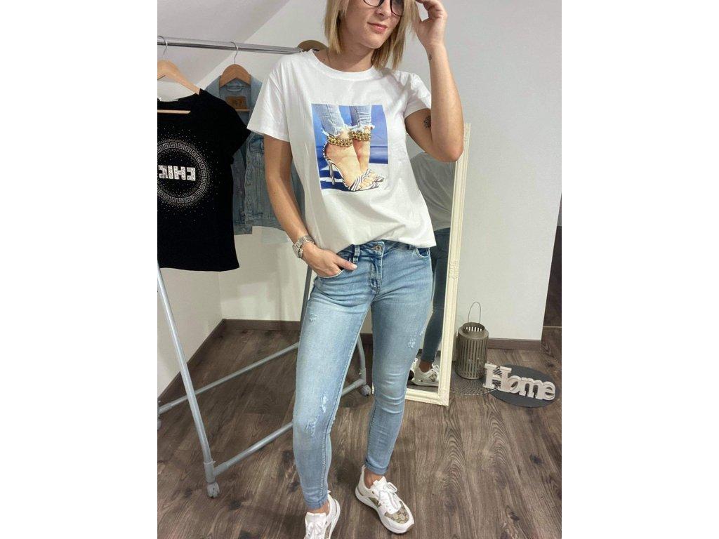 Dámske tričko Z1072 white