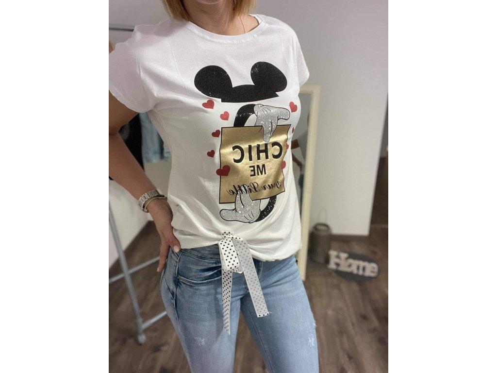 Dámske tričko HJ315 white