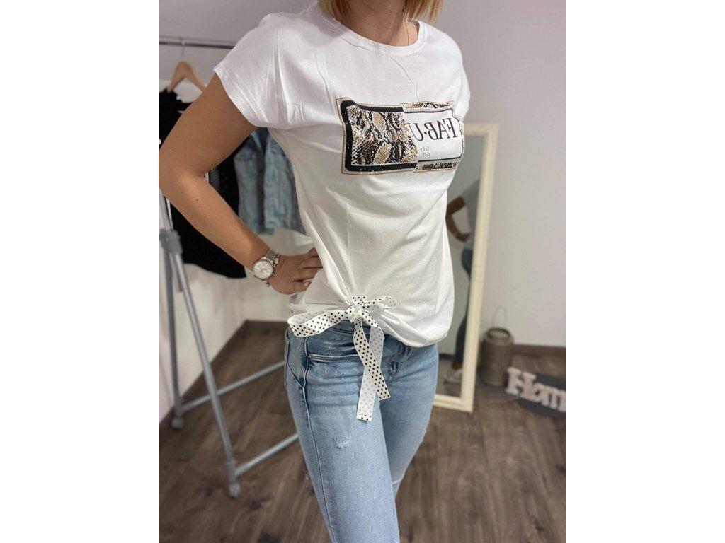 Dámske tričko HJ312 white