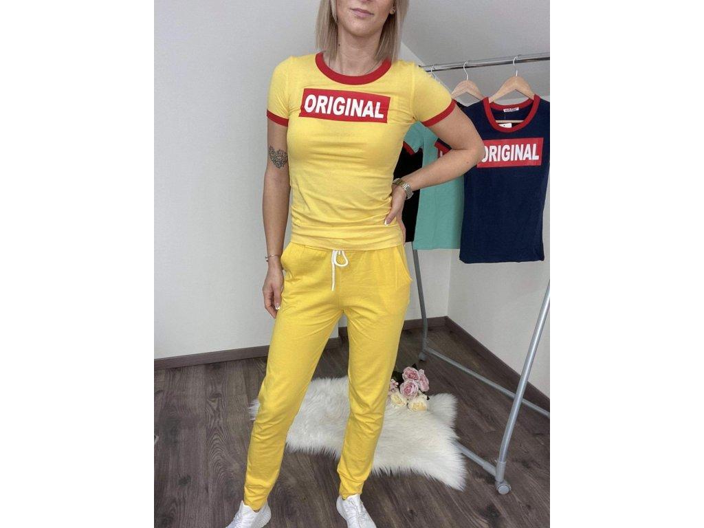 Dámska súprava ORIGINAL yellow