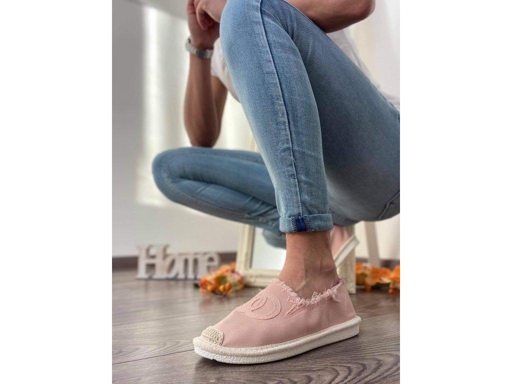 Espadrilky 273 pink