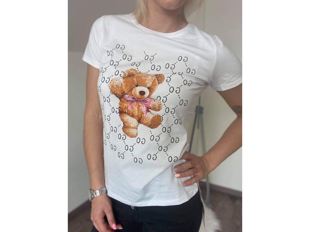 Dámske tričko HJ373 white
