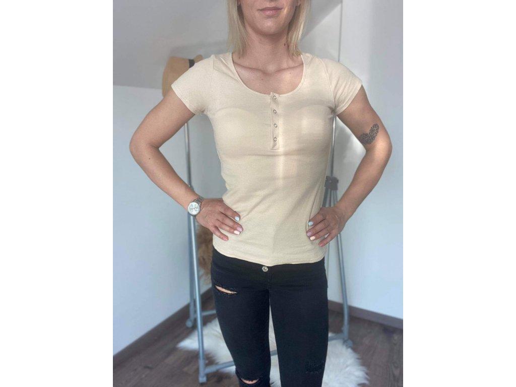 Dámske tričko Z1248 béžová