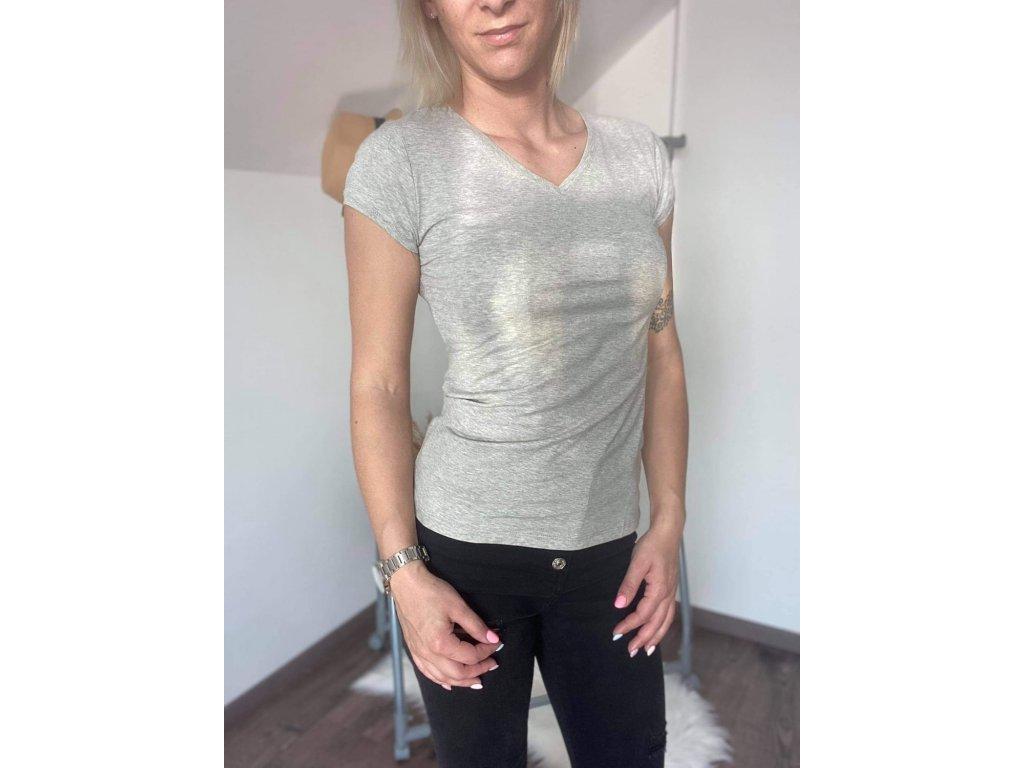 Dámske tričko HJ337 sivá