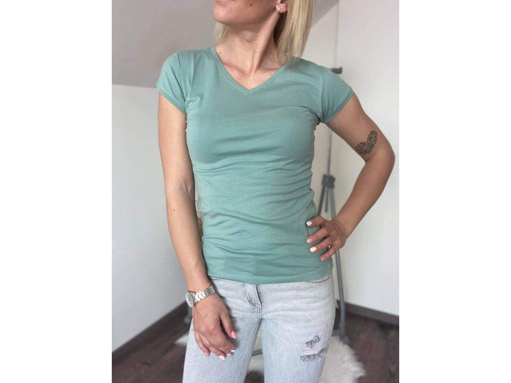Dámske tričko HJ337 zelená