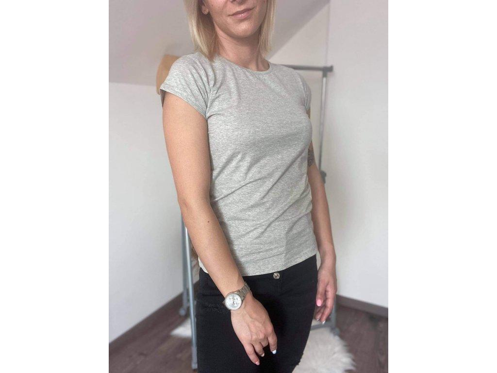 Dámske tričko HJ336 sivá