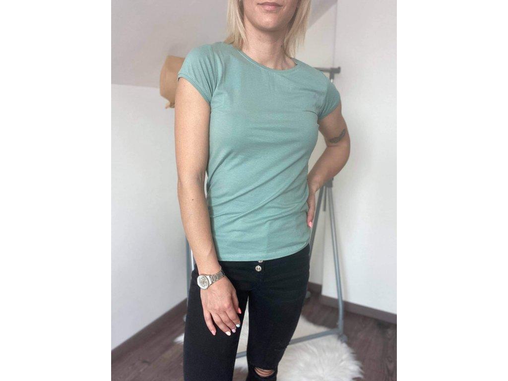Dámske tričko HJ336 zelená