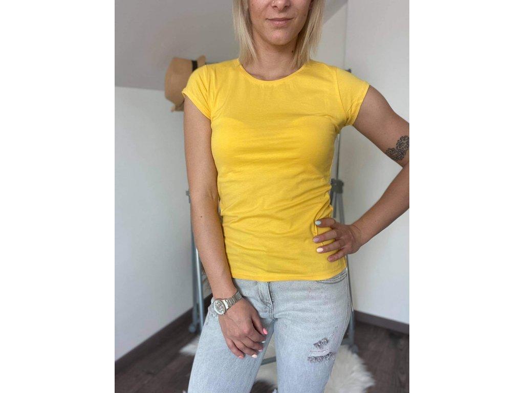 Dámske tričko HJ336 žltá