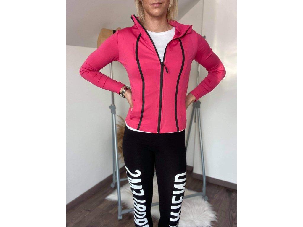 Dámska športová mikina 2051 pink