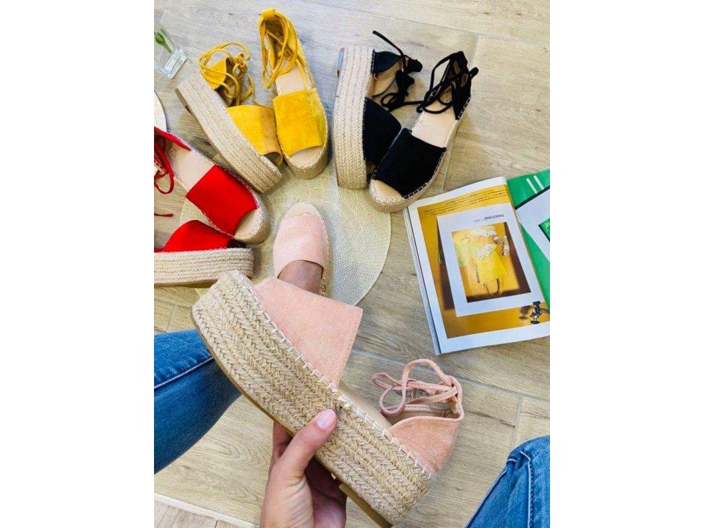 Dámske sandále 5335 pink