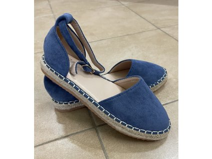 Dámske sandále 5334 jeans blue