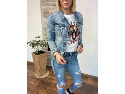 Riflová/džínsová bunda C158