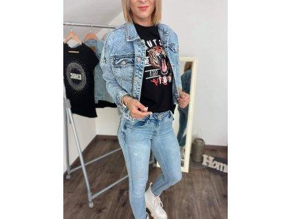 Riflová/džínsová bunda C133